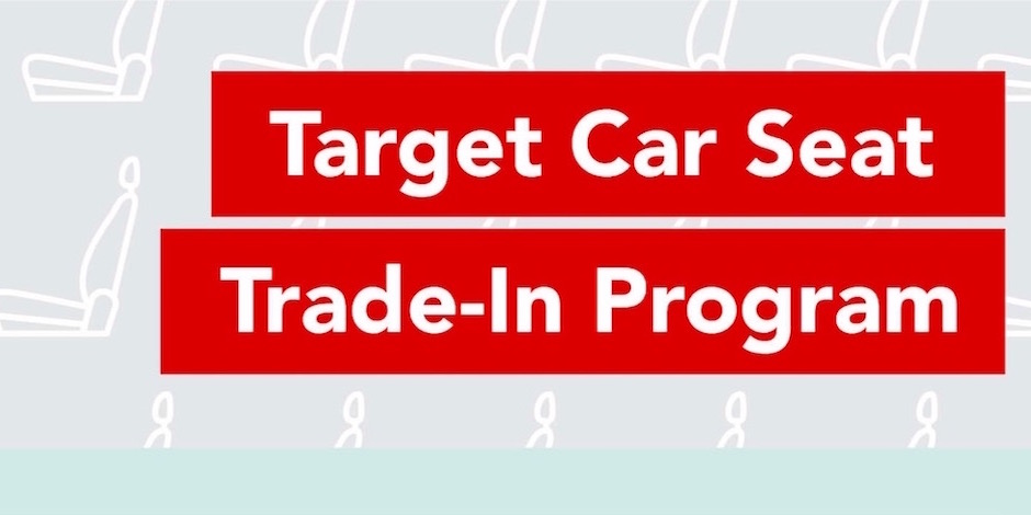 Have car seats you need to recycle?  Target just announced that they're bringing back their car seat trade-in event this April!  Exact dates coming soon.
