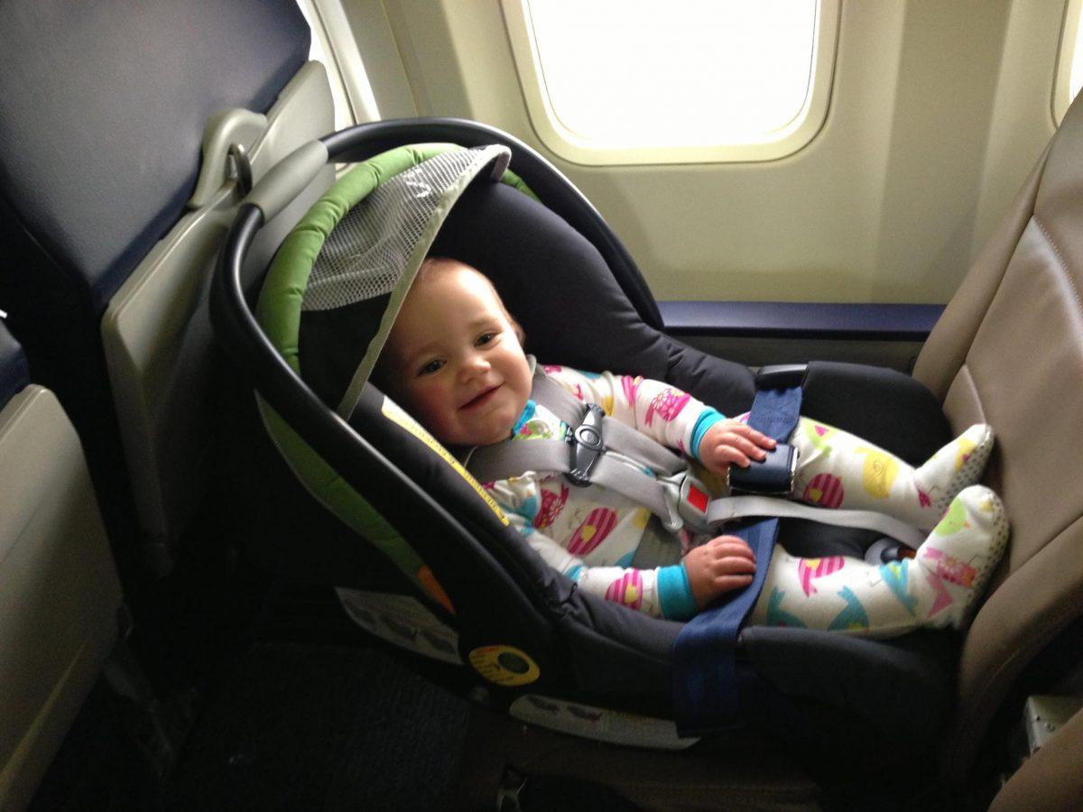 Love this post – did you know that in the event of strong turbulence or a runway accident, your arms are physically incapable of holding onto your child?  On the other hand (and completely disregarding the safety issue), have you ever tried holding on to