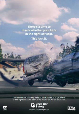 The tough part about car crashes is you never know when they'll happen, and they're more like to occur within 5 miles of your home.  Our next car seat check event will be on 3/16 at Gainesville Montessori, but we also do one-on-one checks as schedules per