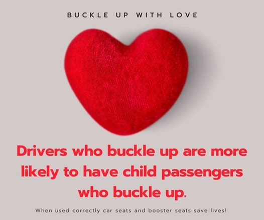 Happy Valentine's Day!  Buckle up out there and don't forget to sign up for our seat check event this Saturday in Haymarket!