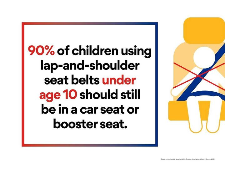 This is a shocking statistic – if your little is out of a booster seat, please make sure they pass the 5-step test!  Message us or email savingprincewilliamslittles@gmail.com if you have questions!        Is your child using the correct car seat? DYK: M…